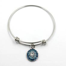 Moda imitação de aço inoxidável pulseira jóia bracelete pulseira