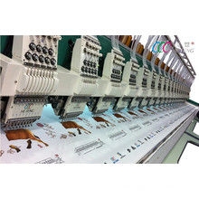 High Speed 20 Heads 9 Needles Computerized Industry Flat Embroidery Machine