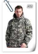 Cool Men Acu Camo Hunting Camping Ski Wind Waterproof Coat Jacket