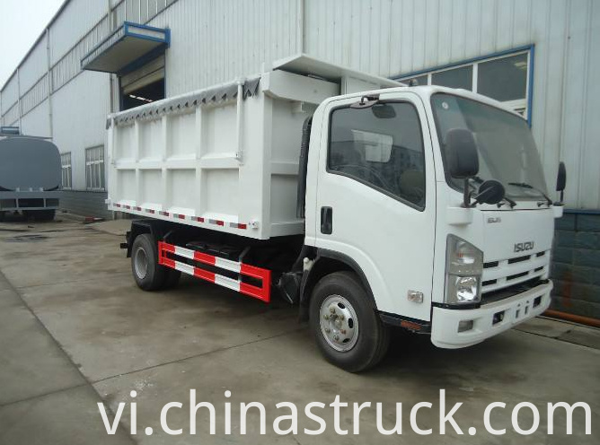 ISUZU dump rubbish truck