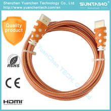 High Speed 1080P HDMI Cable for Computer HDTV DVD
