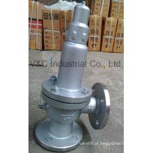 Válvula de segurança da válvula de alívio de pressão com alto desempenho
