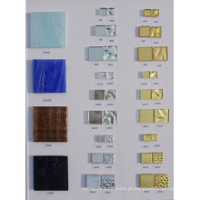Golden Color Mosaic Glass Deus Real 24k