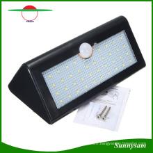 La meilleure qualité 38PCS LED Éclairage extérieur LED Lumières de sécurité Capteur de mouvement Lampes extérieures sans fil à énergie solaire