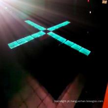 Luz interativa do assoalho da fase do salão de baile do diodo emissor de luz do assoalho do disco do diodo emissor de luz do partido