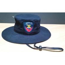 Chapéu de balde barato da coroa preta de alta qualidade (ACEK0025)