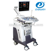 trolley color doppler ultrasound & doppler ultrasound machine with 4D volume probe