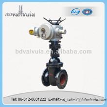Válvula de portão paralela motorizada paralela