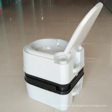 24L tragbare Toilette im Freien Mobile Toilette HDPE Toilette