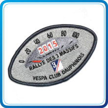 China Wholesale Design Fabric Label with Alter for Decoration