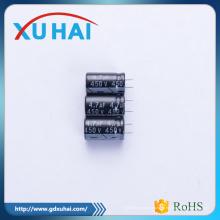 Китай Одностопный поставщик услуг Алюминиевый электролитический конденсатор