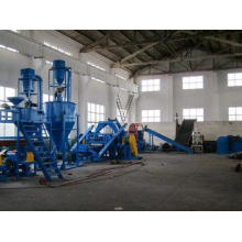 500-3000kg/h Washing Waste Tyre Recycling Machine With Full