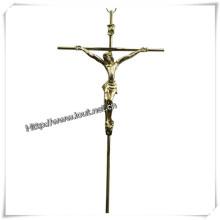 Wholesale Customized Size Exquisite Alloy Crucifix (IO-ca081)