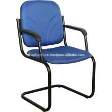 Büro Metall Bankett / Besucherstuhl mit Kissen Sitz