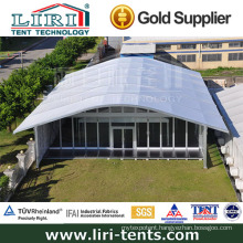 15m X 20m Arcum Tent Buildings with Glass Doors and Glass Walls for Events