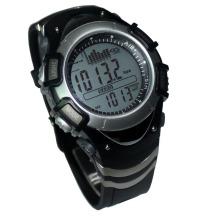 Relógio de barómetro de pesca digital à prova de água de topo