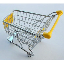 Cheaper mini supermarket shopping carts