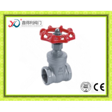 China Factory ANSI Stainless Steel 304/316 Gate Valve with Bsp Thread