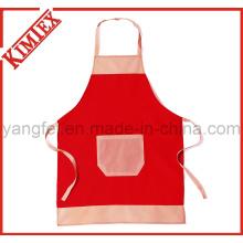 Novo design impressão algodão cozinha jardim avental