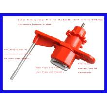 Bloqueo de la válvula universal con brazo de bloqueo