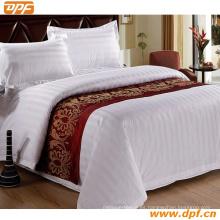 100% poliéster personalizada bufanda cama de hotel (DPF2665)