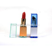Yiwu fabricación de lápiz labial mate de la etiqueta privada de lápiz labial con sabor