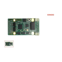 Smart receiving card of curtain led screen SOM202