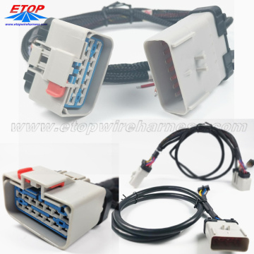 Sistema de conector automotivo de 14 vias APEX 2.8MM