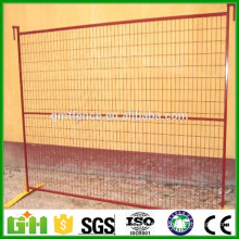 Fábrica de China PVC Coated Galvanized Temporary Fence