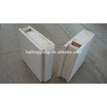 Panneau de mur de sandwich de MgO ENV / ENV SIP imperméable pour le mur externe