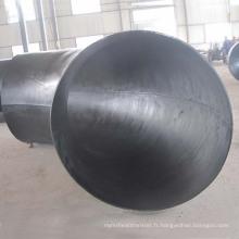 Taille du coude soudé de grand diamètre