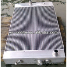 Radiador de agua de aluminio para GM Auto