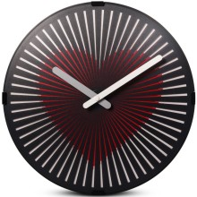 Motion Heart Reloj de pared para decoración de habitaciones