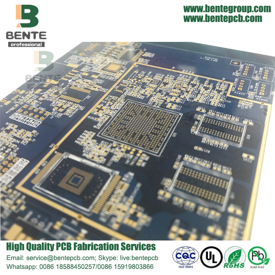 Piccolo PAD di BGA 6 Layer Multilayer PCB Tablet PC