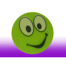 Smile Face Reflective Safety Stickers