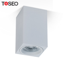 Square ceiling down lighting fixture 70*70MM GU10 surface mounted light