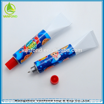 Pluma de pasta dental promocional novedad para regalo