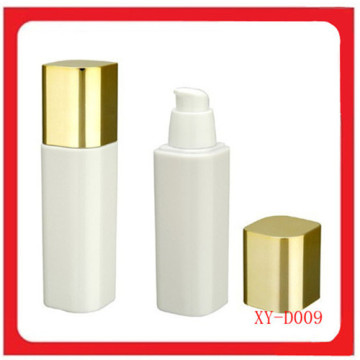 White Square Plastic Foundation Bottle