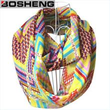 Écharpe imprimée imprimée en polyester à la mode