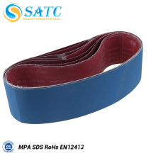 Abrasive 100 x 610mm Sanding Belts For Polishing Metal