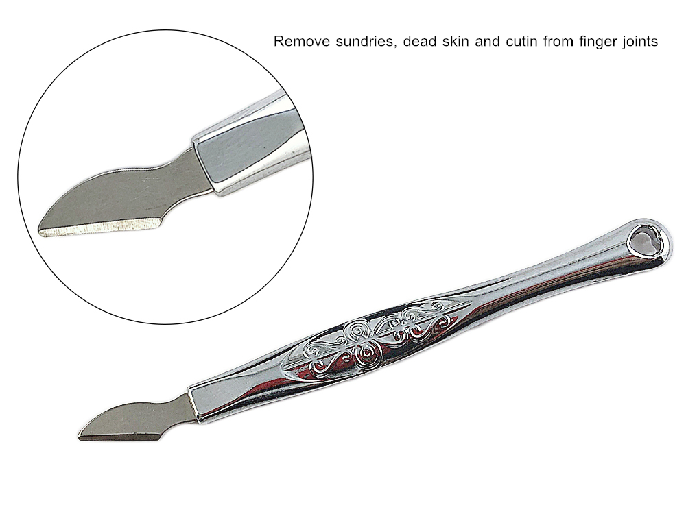 Metal Nail Cuticle Pusher