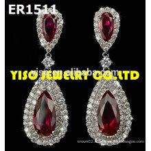 Boucles d'oreilles bijoux de mariage