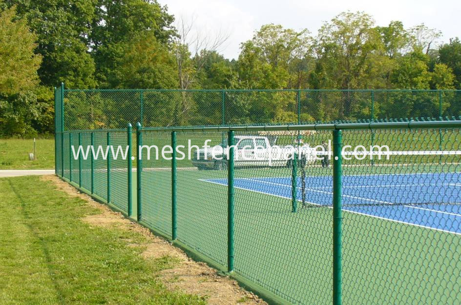 diamond chain link fence panels