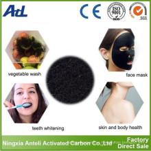 Polvo de carbón activo de carbón vegetal de grado alimenticio