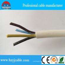 4 Cores Rvv White Jacket 4 Cores Rvv Flexible Cable