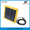 Sonnenkollektor-Energie-Energie-tragbare Solarlaterne mit MP3-Radio