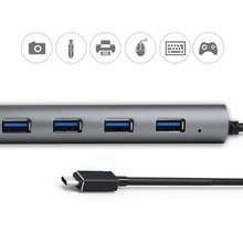 5Gbps 7-port USB 3.1 type-C hub, self-powered properties, for ultra book/laptop/tablet, CE, FCC