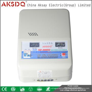 Hot TSD monofásico monofásico de parede monocomponente único montado em parede estabilizador de tensão para ar condicionado