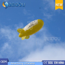 PVC Iluminado Aire Helio Globo Publicidad inflable RC Blimp Dirigible