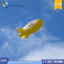 PVC Lighted Air Helium Balloon Publicité Gonflable RC Blimp Airship